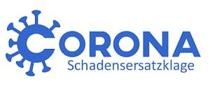 """Logo """"Corona-Schadensersatzklage"""""""