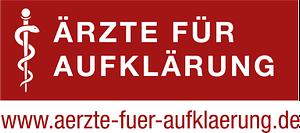 """Logo der """"Ärzte für Aufklärung"""""""